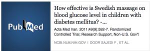 Pubmed Diabetes