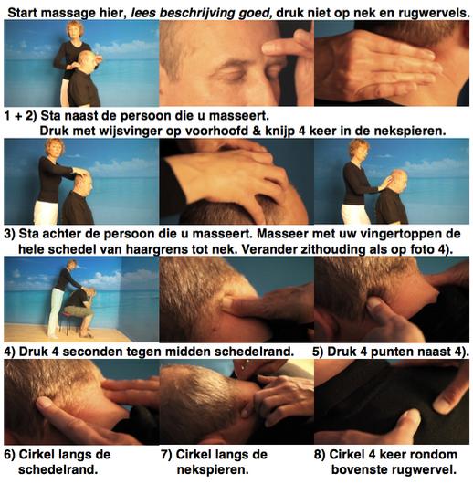 Anti Stress in 3 minuten massage® massagekaart